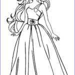 Barbie Coloring Book Beautiful Image Printable Barbie Princess Coloring Pages For Kids