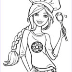 Barbie Coloring Book Cool Collection Chef Barbie Coloring Page Coloring Pages