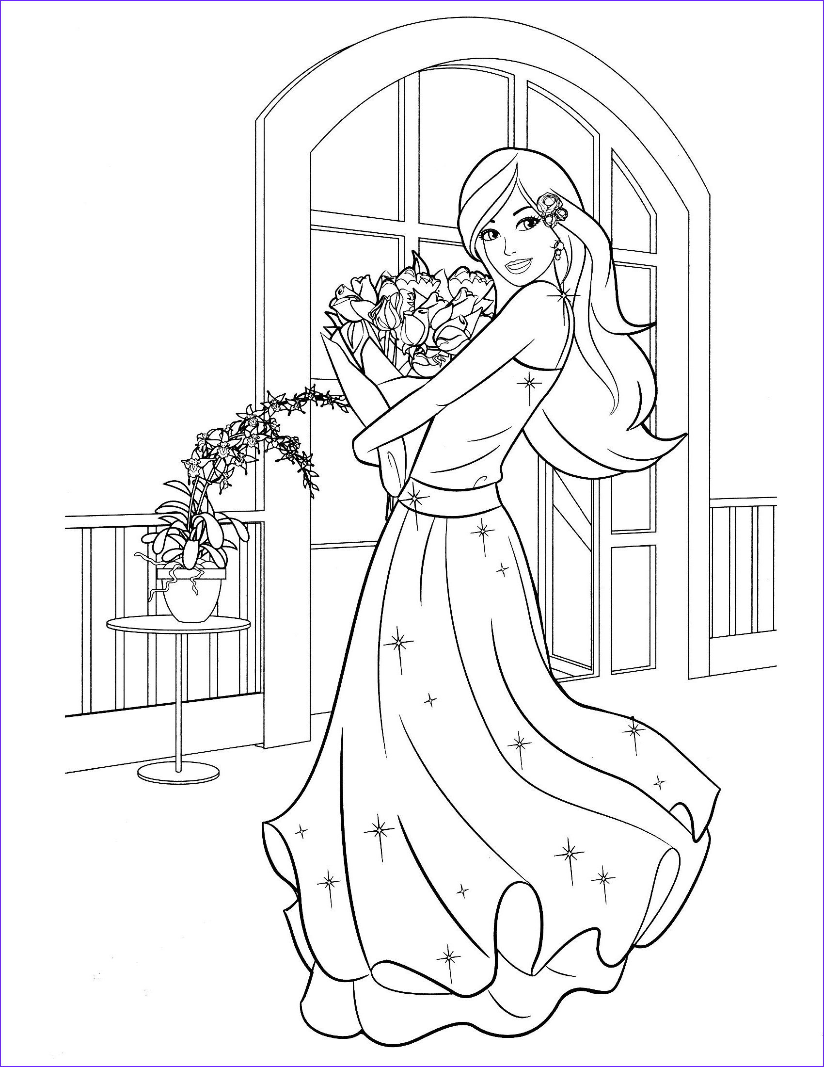 Barbie Coloring Books Best Of Images Free Printable Barbie Coloring Pages …