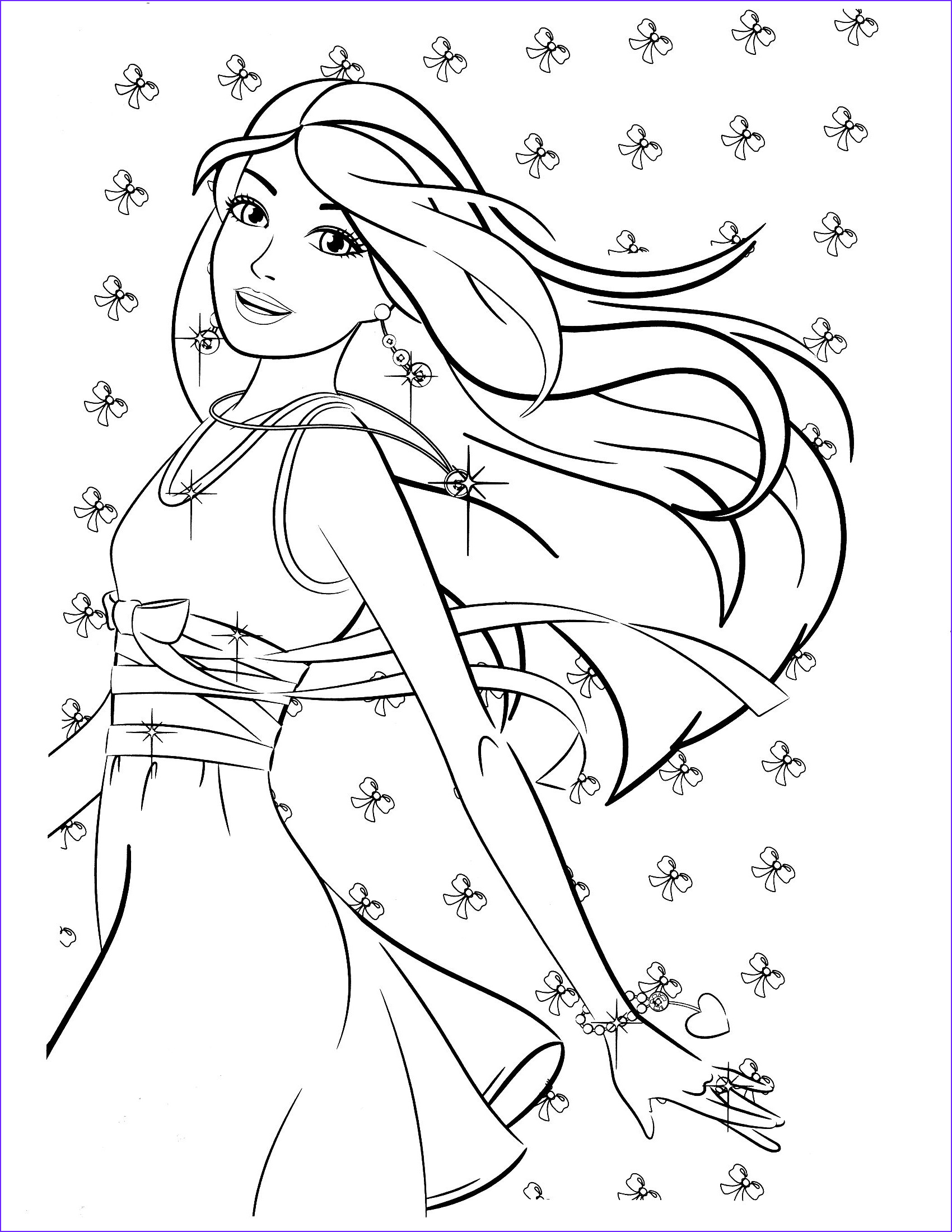Barbie Coloring Books New Collection Barbie Coloring Pages Bing