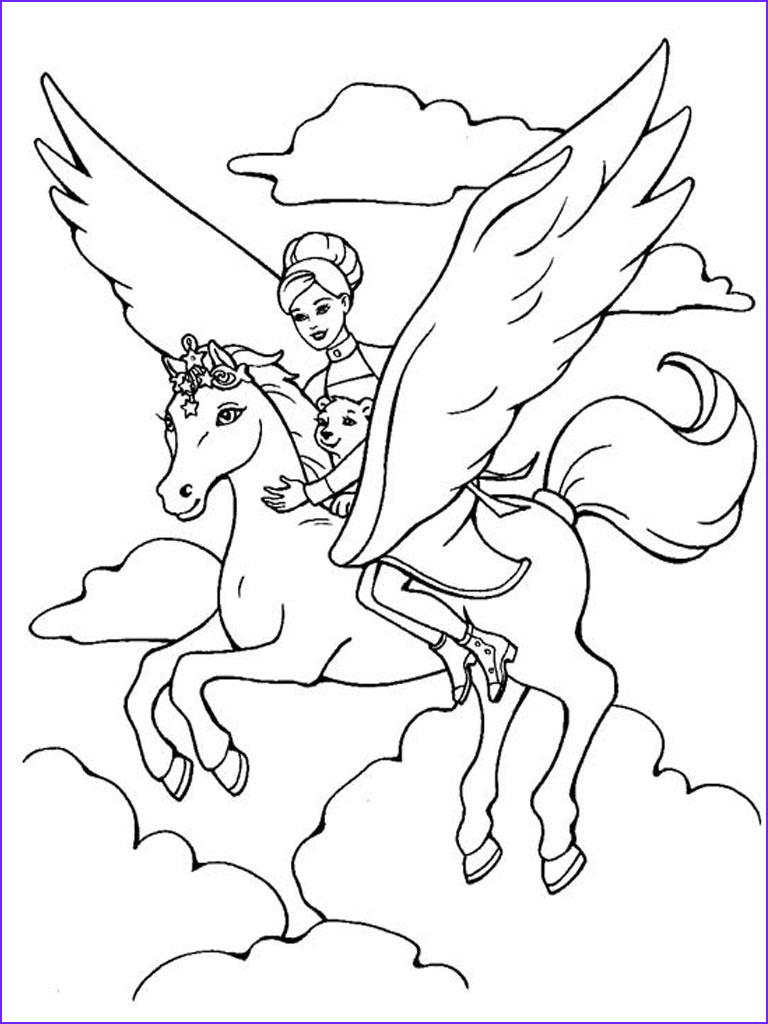 Barbie Printable Coloring Pages Beautiful Photos Barbie Coloring Pages for Girls