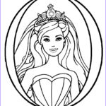 Barbie Printable Coloring Pages Best Of Stock Printable Barbie Princess Coloring Pages for Kids