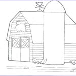 Barn Coloring Awesome Photography Barn Coloring Pages Bestofcoloring