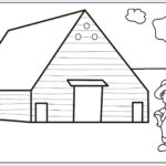Barn Coloring Beautiful Photography Farm Coloring Pages Best Coloring Pages For Kids