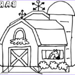 Barn Coloring Beautiful Photos Barn Coloring Pages Horse In The Barn Free Printable