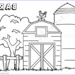 Barn Coloring Beautiful Photos Barn Coloring Pages Tree By The Barn Free Printable