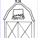 Barn Coloring Cool Photos Barn Outline Barns Coloring Pages Clipartix