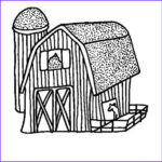 Barn Coloring Cool Photos Picture Barn Coloring Page Color Luna