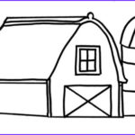 Barn Coloring Luxury Image Drawing Barn Coloring Page Color Luna