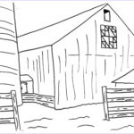 Barn Coloring New Photos Coloring Pages