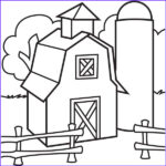 Barn Coloring Unique Image Barn Coloring Pages Bestofcoloring