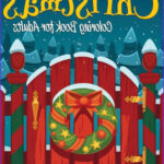Barnes And Noble Coloring Books For Adults Cool Photos Christmas Coloring Book For Adults By Celeste Von Albrecht
