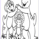 Barney Coloring Pages Awesome Photos Printable Barney And Friends Coloring Pages