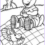 Barney Coloring Pages New Photos Barney Coloring Pages