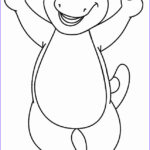 Barney Coloring Pages Unique Stock Free Printable Barney Coloring Pages For Kids
