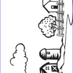 Barnyard Coloring Awesome Collection Farm Coloring Page For Kids Free Printable Picture