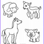 Barnyard Coloring Awesome Image Free Printable Farm Animal Coloring Pages For Kids