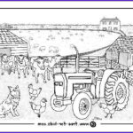 Barnyard Coloring New Photos Farm Colouring Pages With Farm Animal