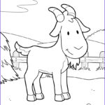 Barnyard Coloring Unique Collection Goat At The Barnyard Coloring Pages Hellokids