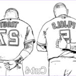 Baseball Coloring Beautiful Collection 11 Days Until Spring Training Let These Printable Angels