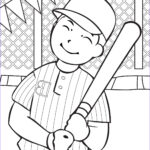Baseball Coloring New Photos Free Printable Baseball Coloring Pages For Kids Best