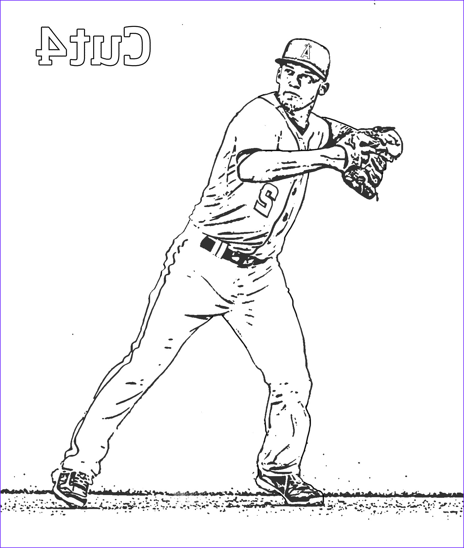printable la angels coloring book pages