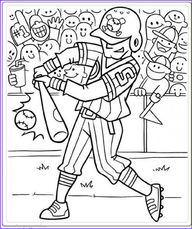 Baseball Coloring Pages Inspirational Photography A Hitter In Baseball Coloring Page Pritable