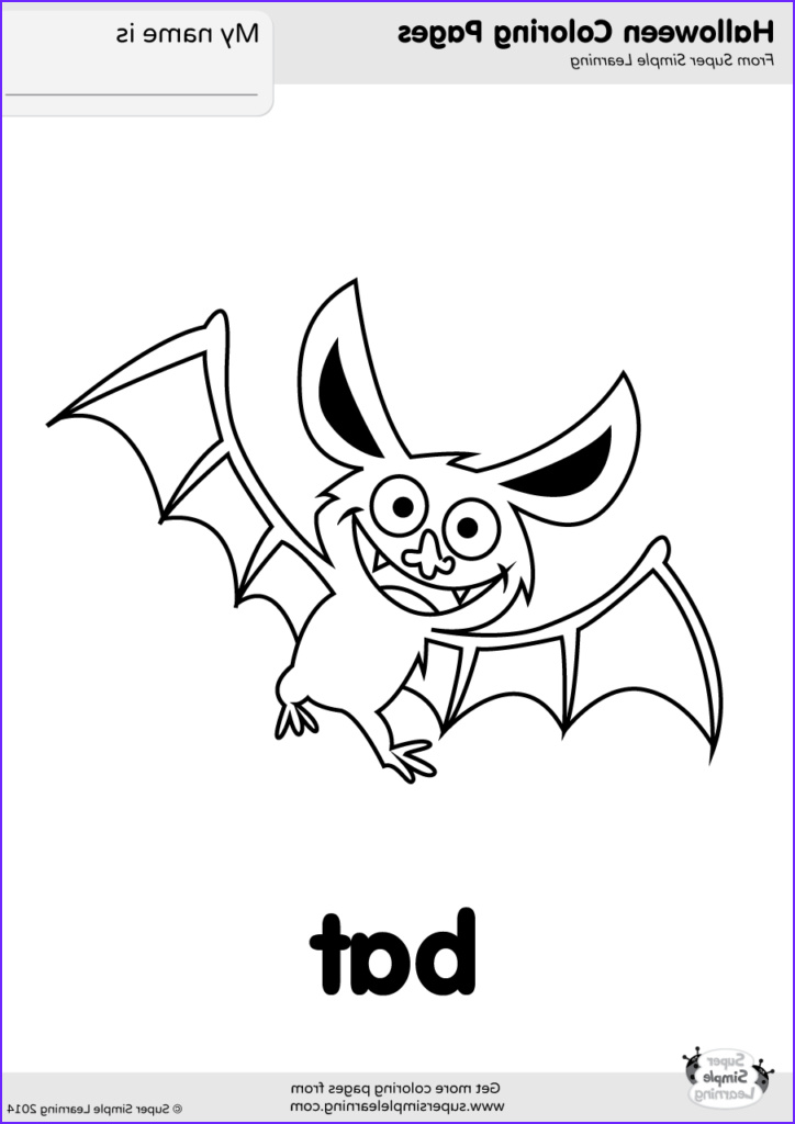 Bat Coloring Pages Beautiful Gallery Bat Coloring Page Super Simple