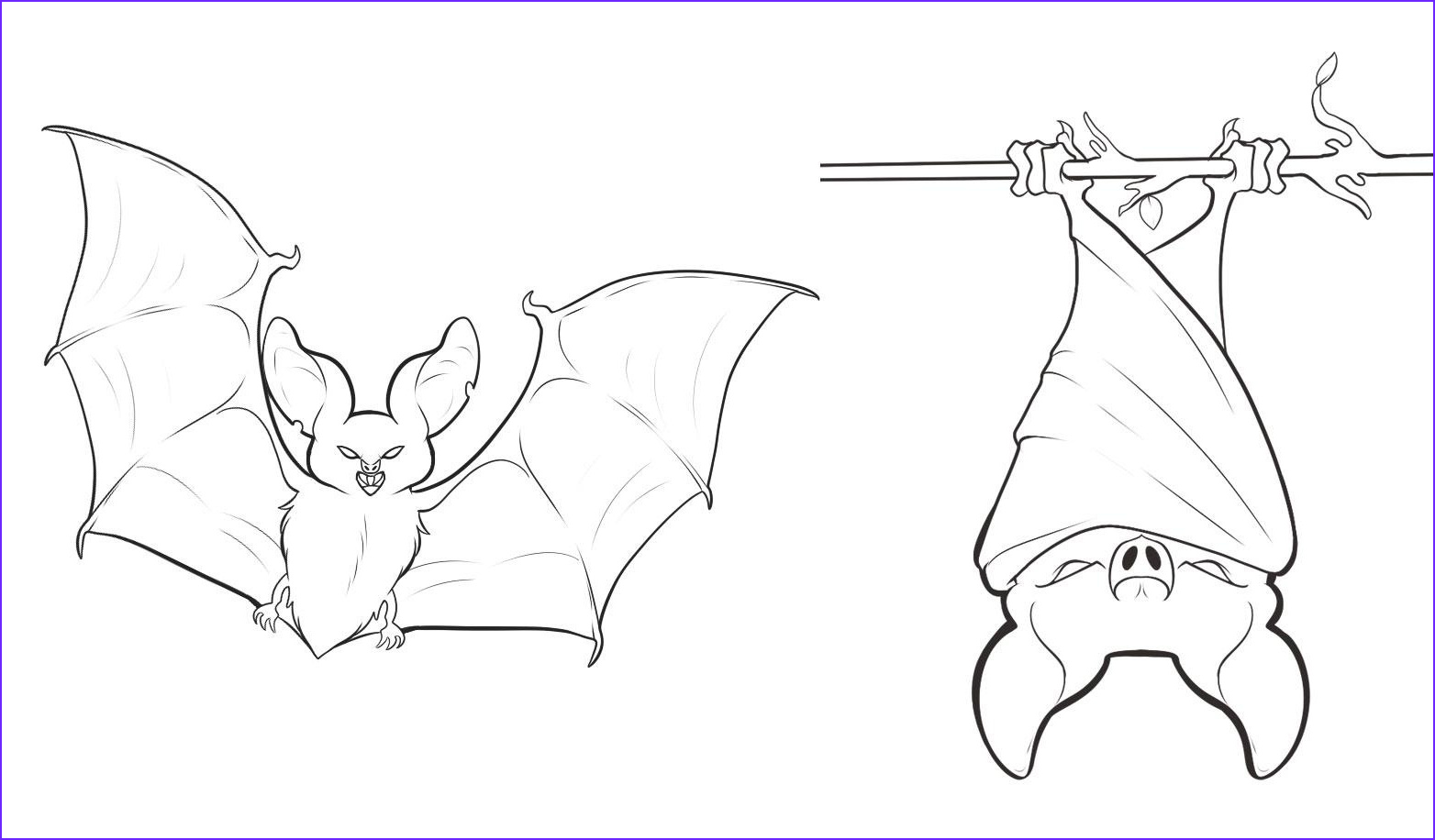 Bat Coloring Pages Best Of Stock Free Printable Bat Coloring Pages for Kids