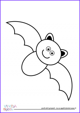 Bat Coloring Pages New Stock Bat Colour by Number