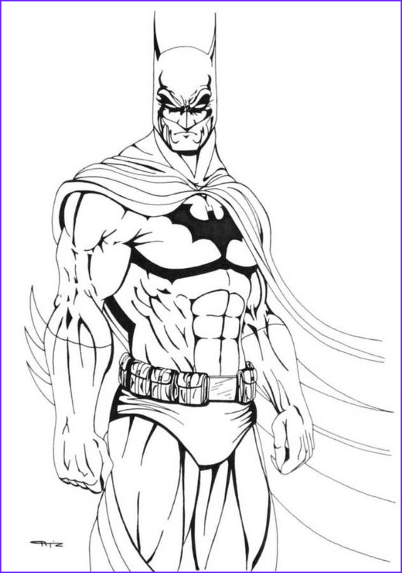 Batman Adult Coloring Book Awesome Photography Download and Print Cool Batman Coloring Pages