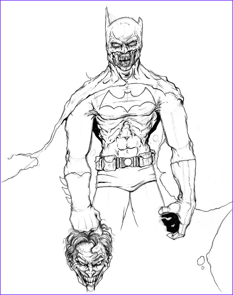 Batman Adult Coloring Book Beautiful Photography 35 New Zombie Coloring Pages
