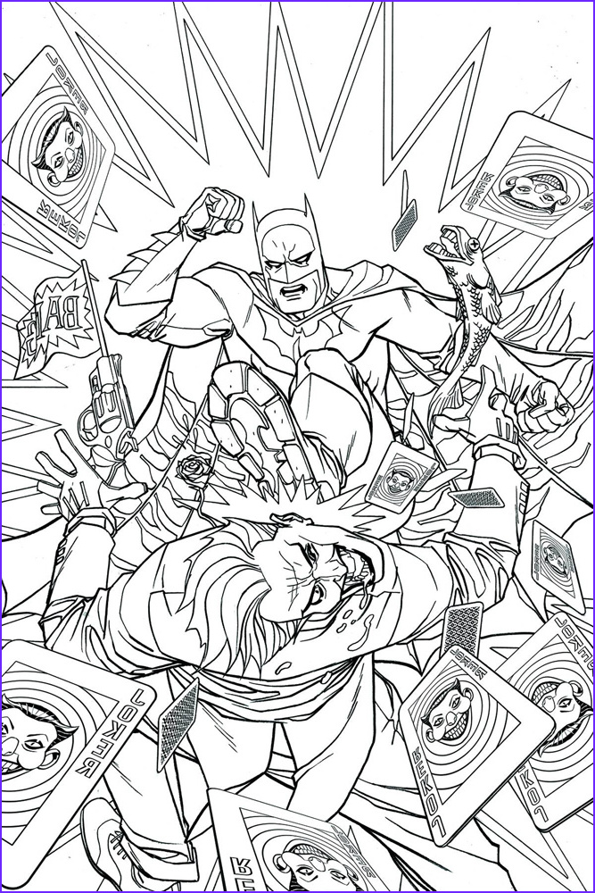Batman Adult Coloring Book Cool Collection Batman 48 Dcu Variant Adult Coloring Book Cover