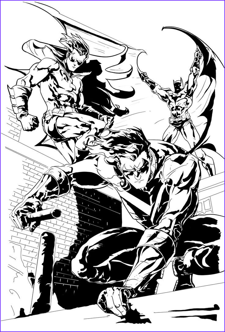 Batman Adult Coloring Book Inspirational Images Wings Fire Nightwing Coloring Pages