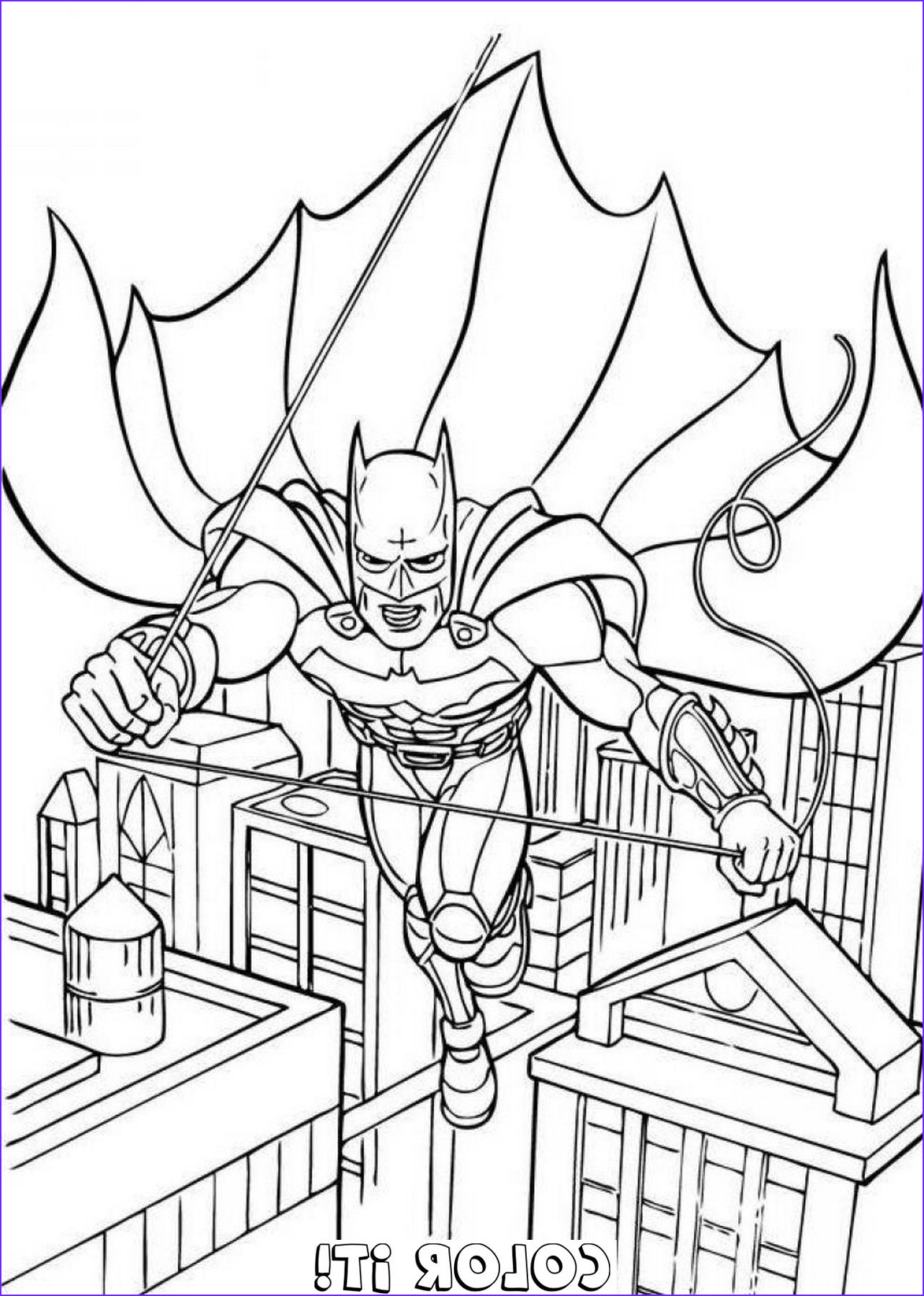 free batman coloring pages to print