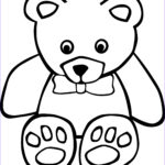 Bear Coloring Pages Awesome Photos Free Printable Teddy Bear Coloring Pages For Kids