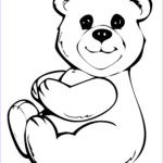 Bear Coloring Pages Beautiful Photos Free Printable Teddy Bear Coloring Pages For Kids