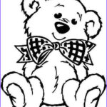 Bear Coloring Pages Elegant Photos Printable Teddy Bear Coloring Pages Birthday