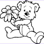 Bear Coloring Pages Inspirational Gallery Teddy Bear Coloring Pages Theme