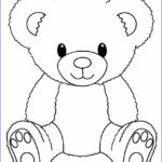 Bear Coloring Pages Unique Photography Printable Teddy Bear Coloring Pages For Kids