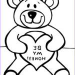 Bear Coloring Pages Unique Photos Free Printable Teddy Bear Coloring Pages For Kids