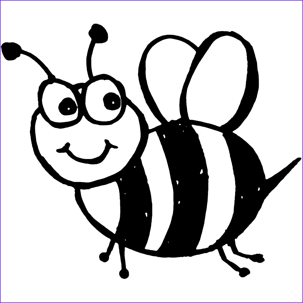 Bee Coloring Pages Inspirational Image Free Printable Bumble Bee Coloring Pages for Kids