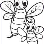Bee Coloring Sheet Awesome Image Free Printable Cartoon Bee Coloring Page For Kids – Supplyme