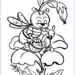 Bee Coloring Sheet Best Of Collection Bee Coloring Pages Bees The Net