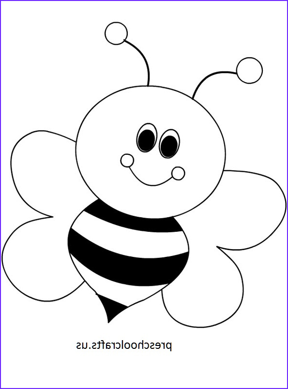 Bees Coloring Pages Beautiful Photos Bee Coloring Pages Preschool and Kindergarten