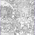 Best Adult Coloring Books New Image Very Challenging Coloring Page For Adults Free Printable