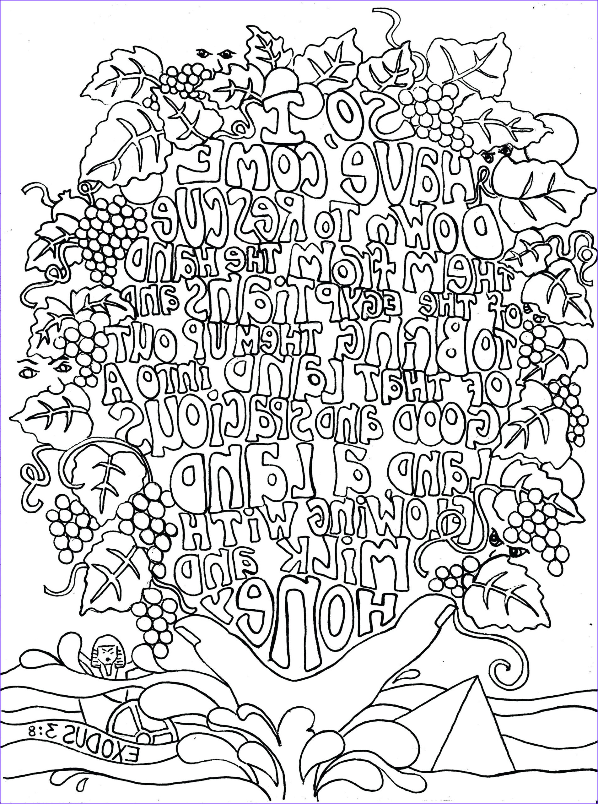 bible verses coloring pages for adults