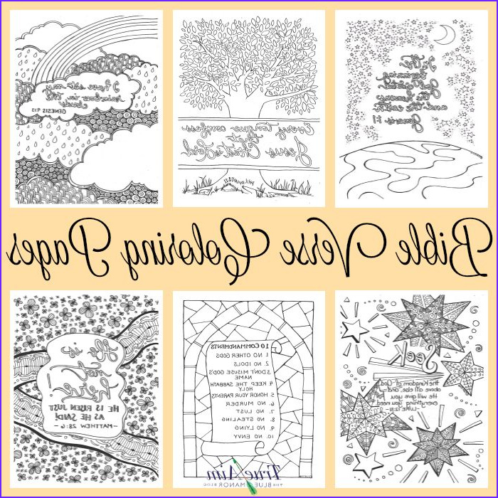 Bible Coloring Pages for Kids with Verses New Photos 6 Bible Verse Coloring Pages