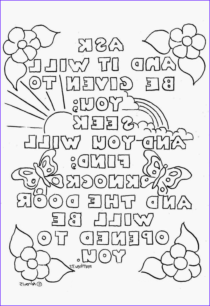 Bible Coloring Pages for Kids with Verses Unique Photos top 10 Free Printable Bible Verse Coloring Pages Line