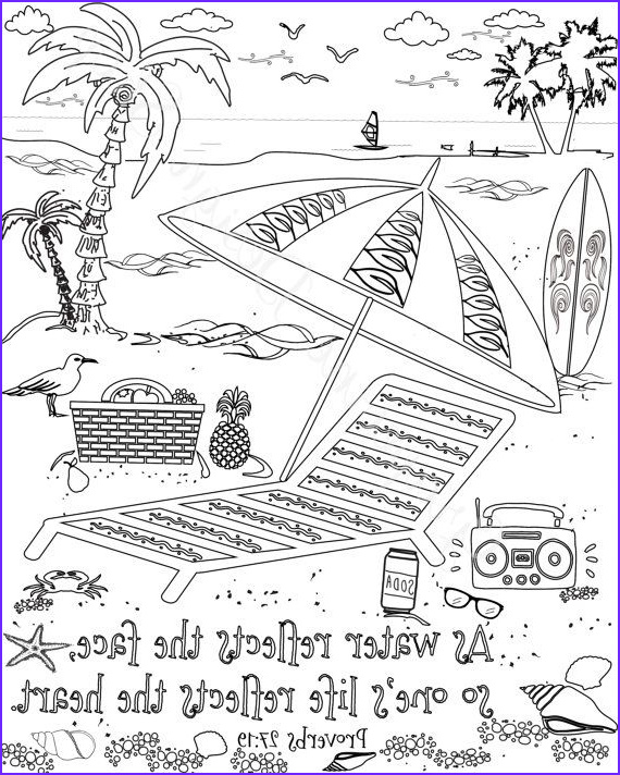 Bible Coloring Pages Pdf Elegant Photos Bible Verse Coloring Pages Set Of 5 Beach Instant